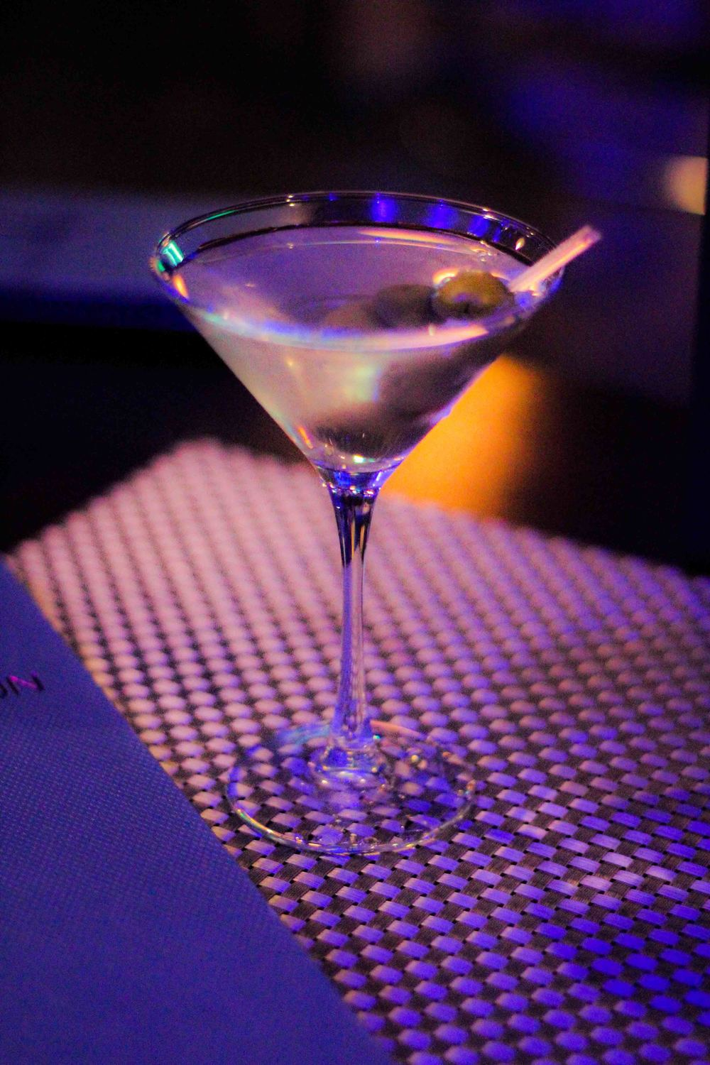 The Orion Lounge Martini may be the best dirty martini I've ever had.