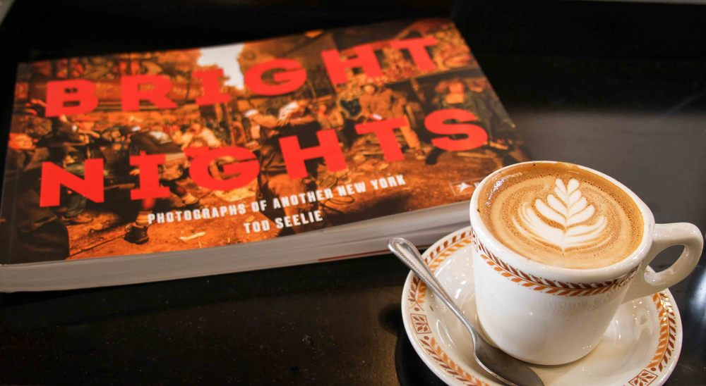 I went to Lamplighter Roasting Company in Scott's Addition and flipped through Bright Nights, a photography book that I've now added to my amazon wish-list.