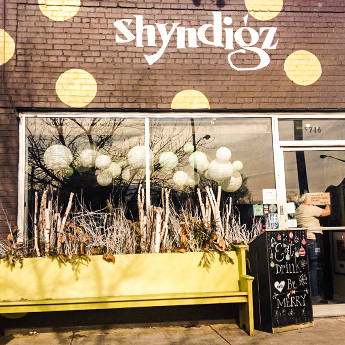 Shyndigz located on Patterson and LIbby