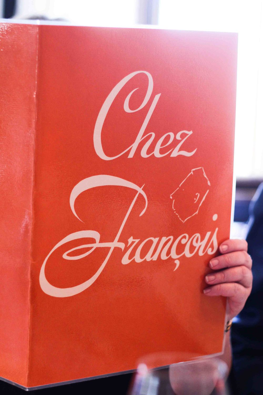 Tommy's aunt and uncle treated us to the most amazing lunch at Chez Francaois in Great Falls, Virginia.