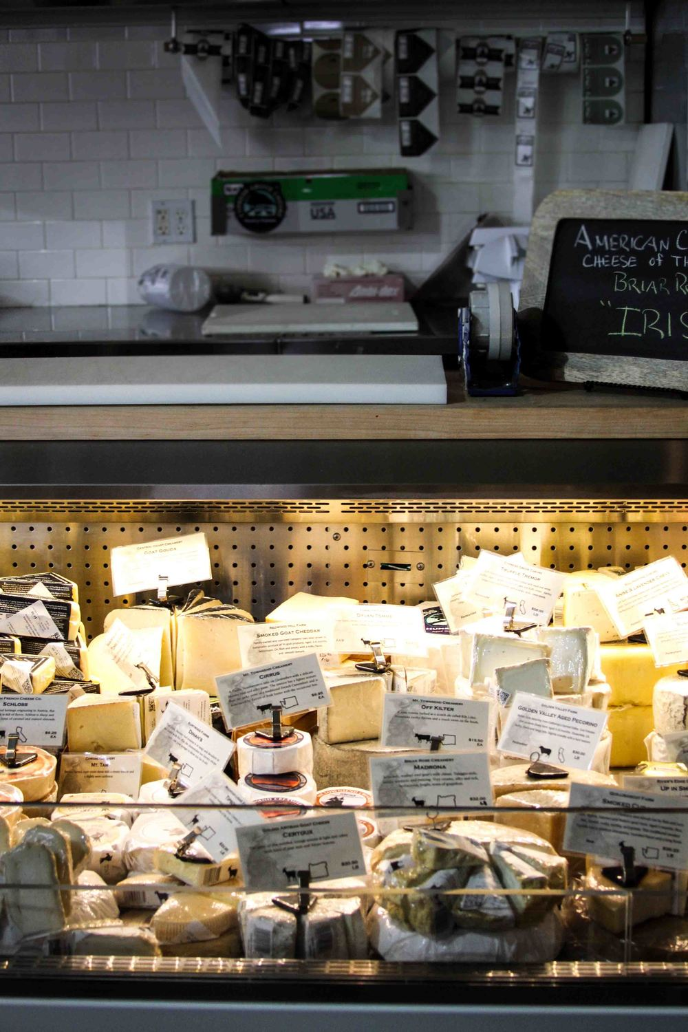 Beecher's cheese case