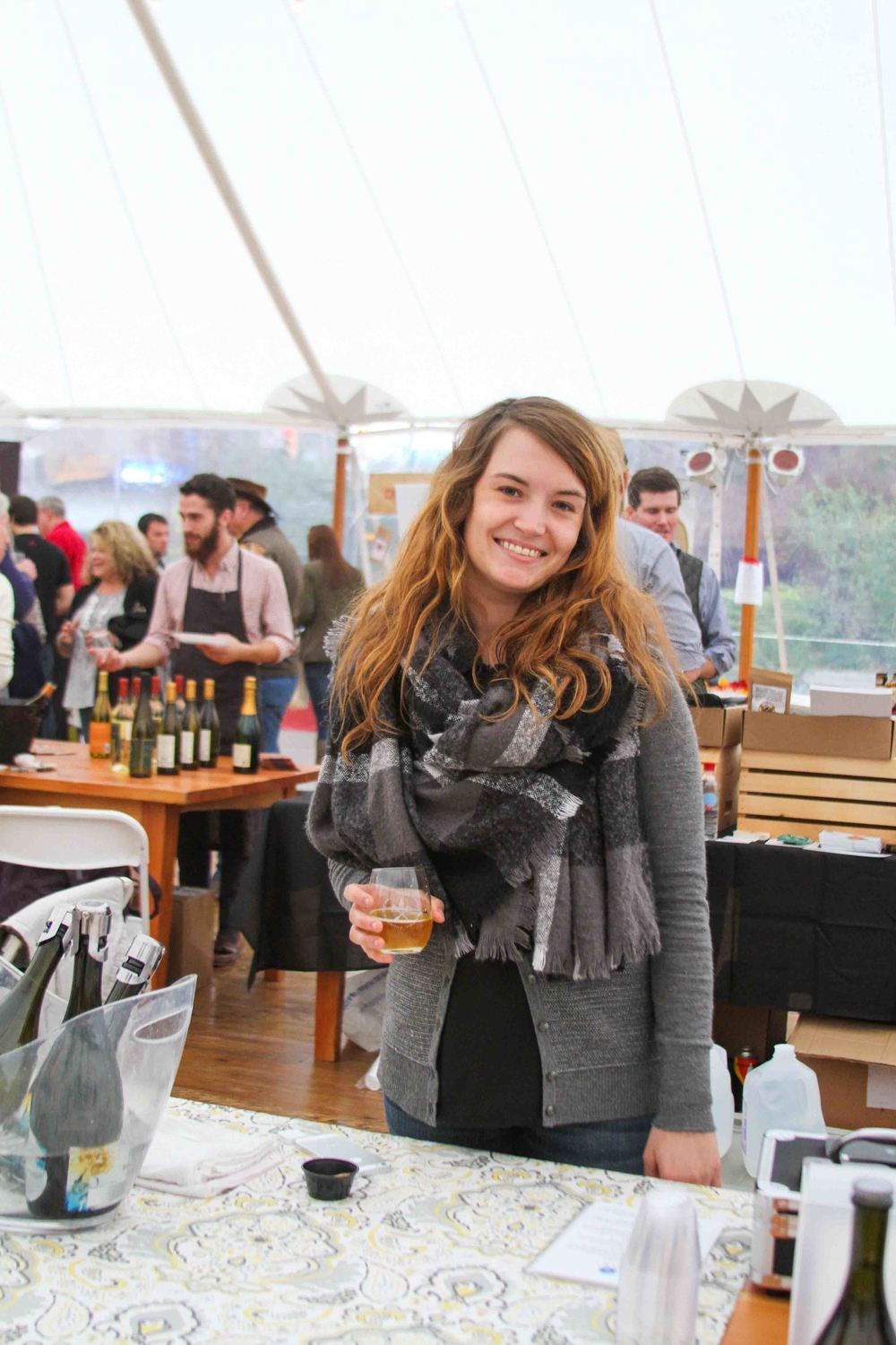Kelly from Blue Bee Cider, Richmond, Virginia's first urban cidery