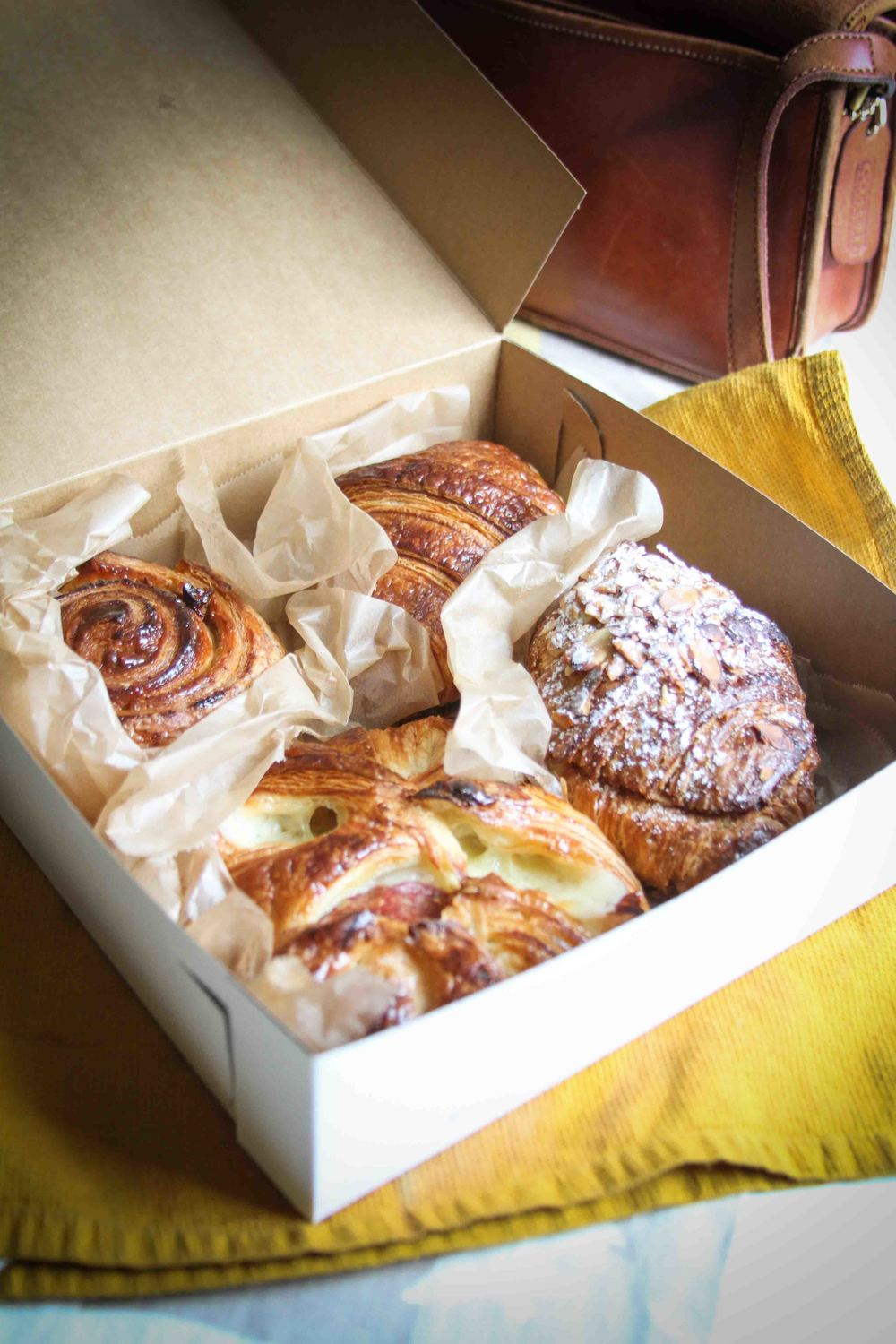 Pastries from Sub Rosa Bakery in Church Hill