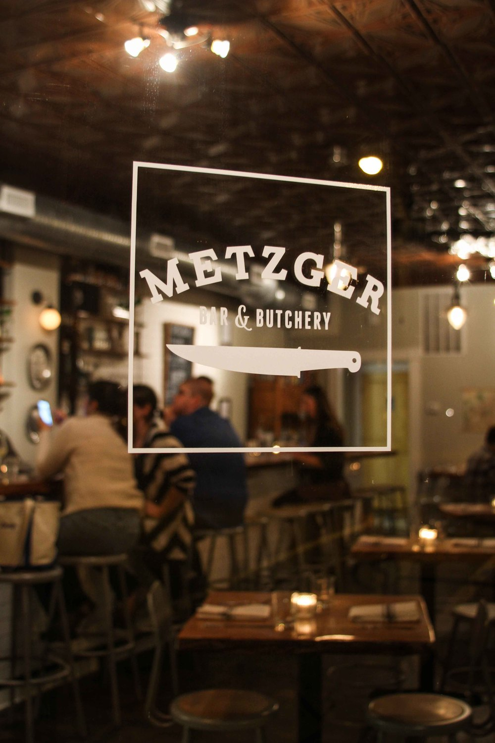 Before my 5-course birthday dinner, we pre-gamed at Meztger in Church Hill
