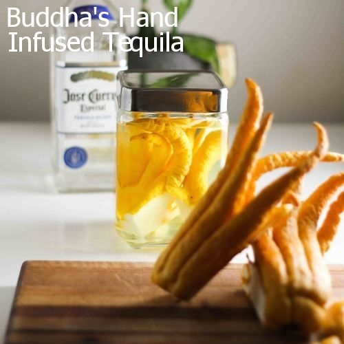 Buddha's Hand Infused Tequila