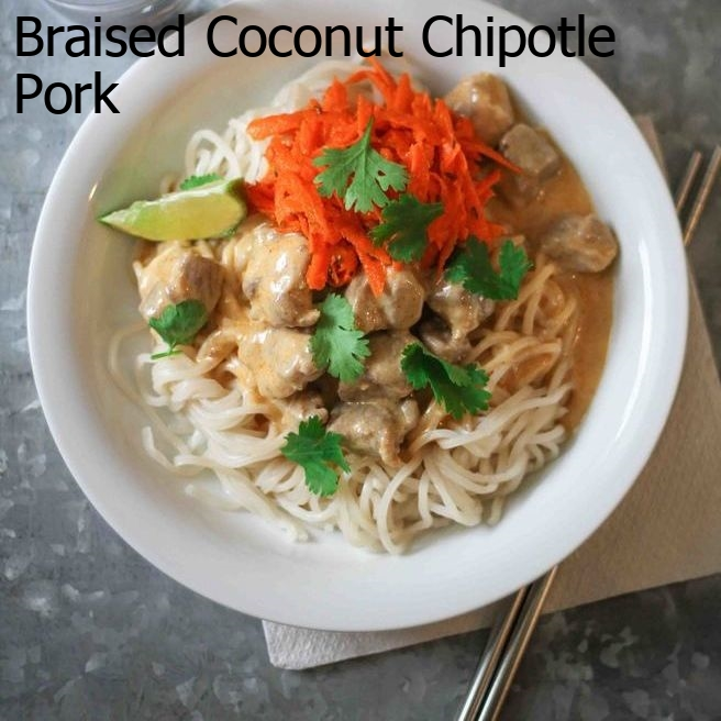 Braised Coconut Chipotle Pork