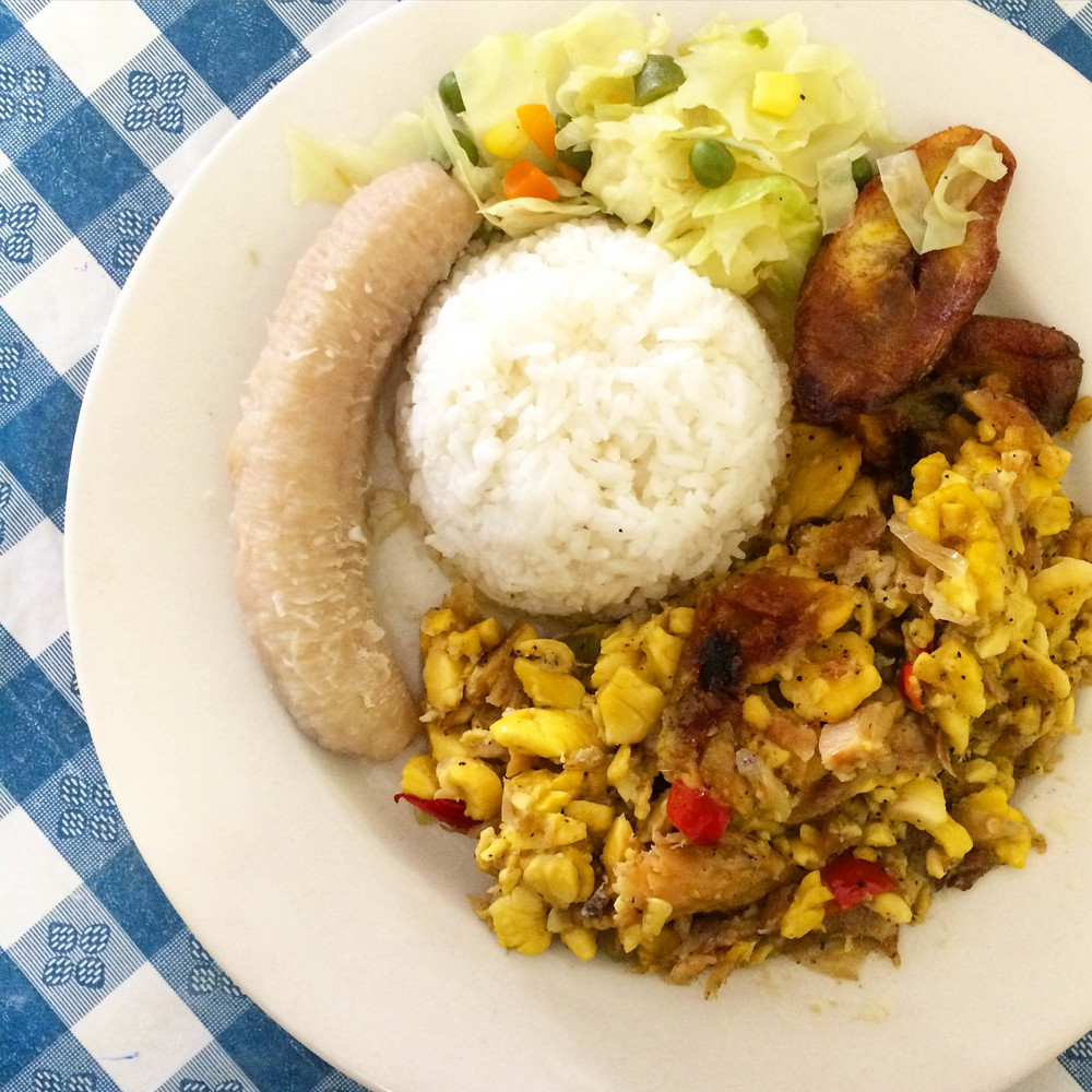 Ackee and Codfish - A classic Cayman dish & my new favorite breakfast
