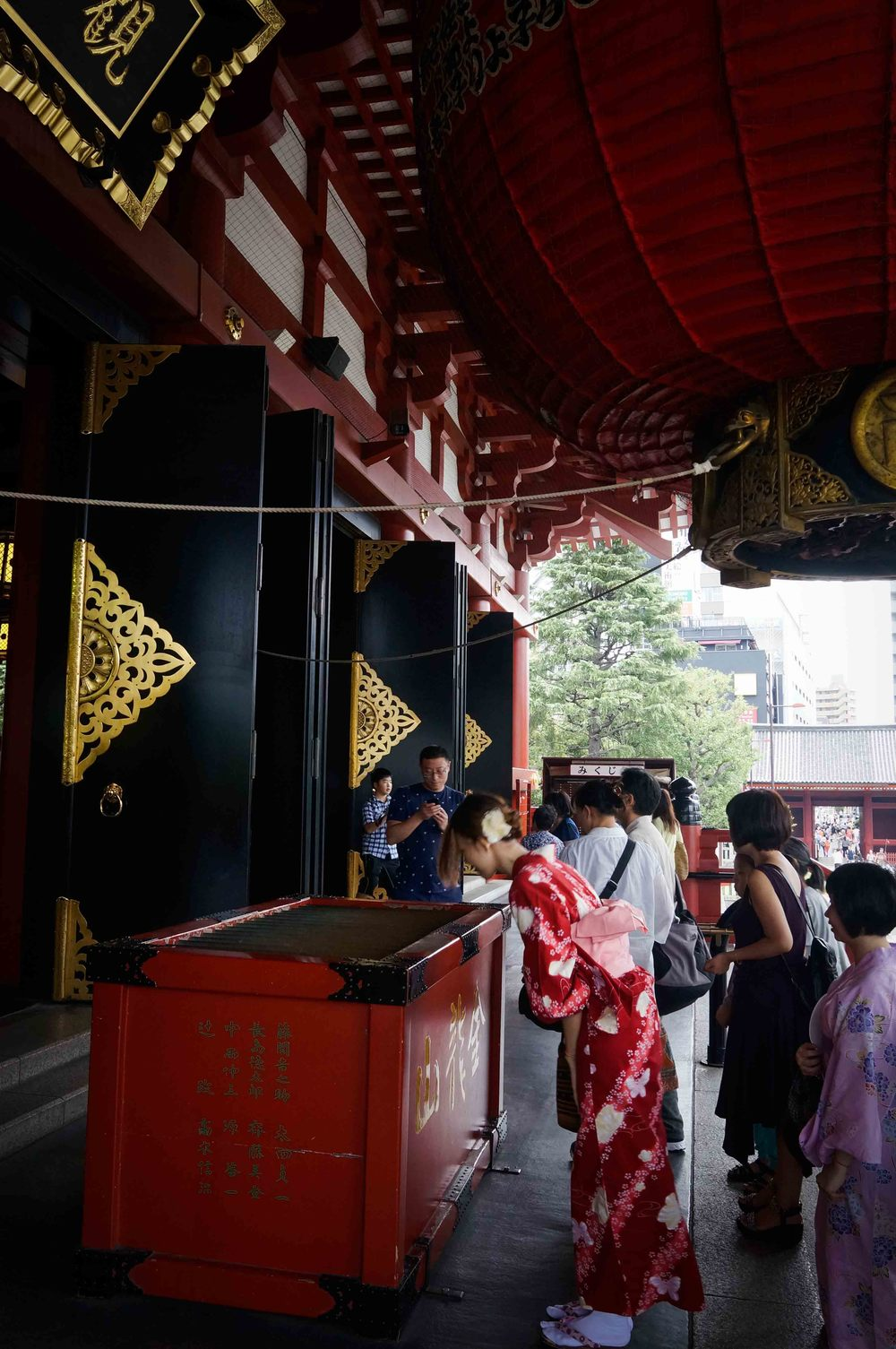 Asakusa Buddhist Temple