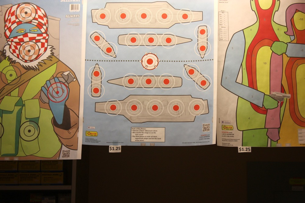 Targets, East Dundee, IL / Photo credit: Susannah Breslin