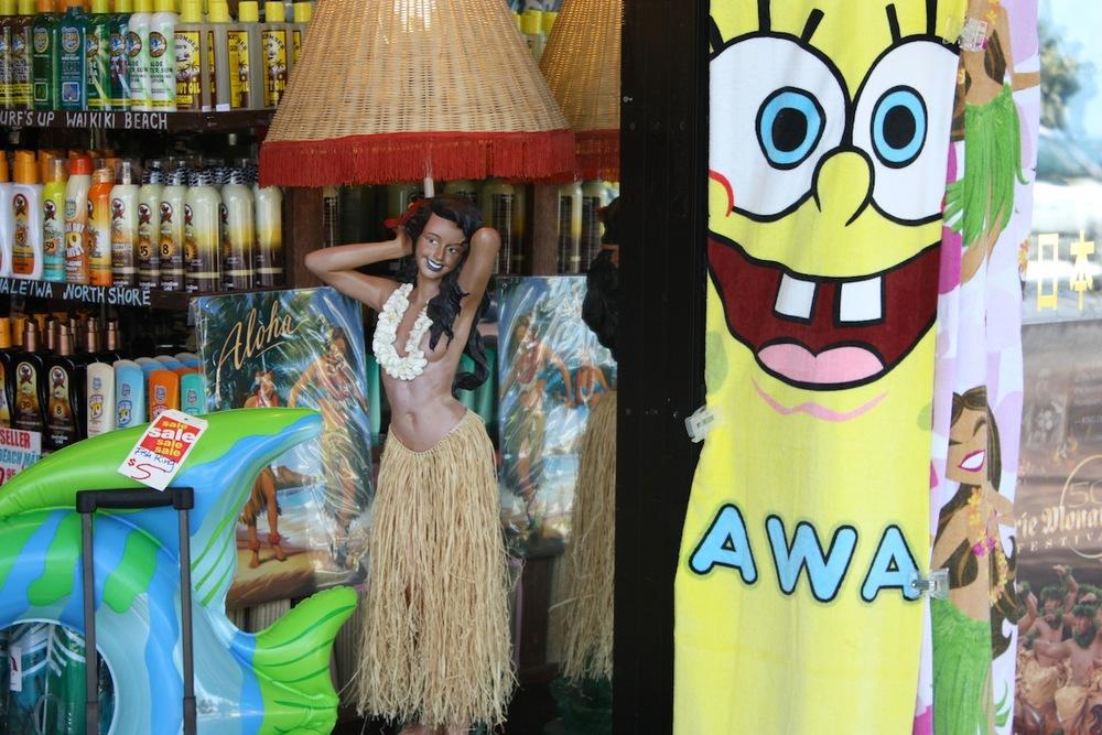 Sponge Bob Hula