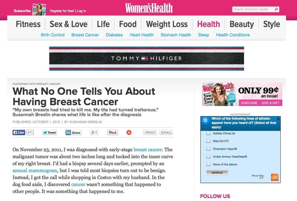 Women's Health Online