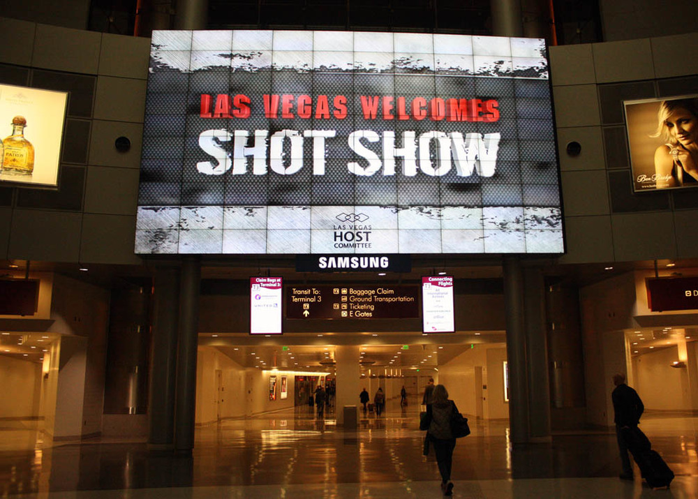 SHOT Show, Las Vegas, NV / Photo credit: Susannah Breslin