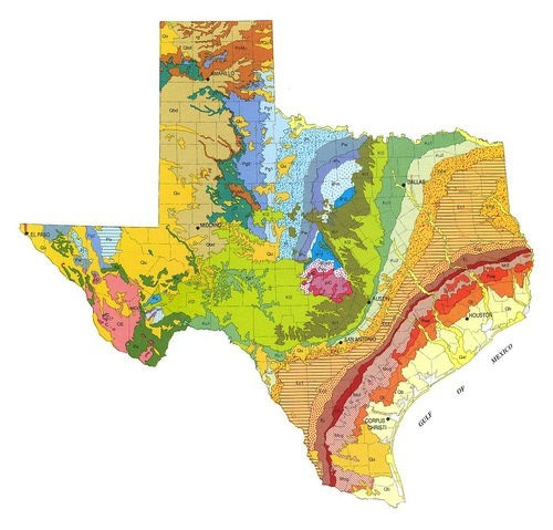 Texas Bureau of Economic Geology  via  About