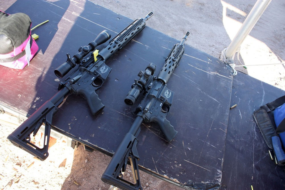 AR-15s, Boulder City, NV / Photo credit:  Susannah Breslin