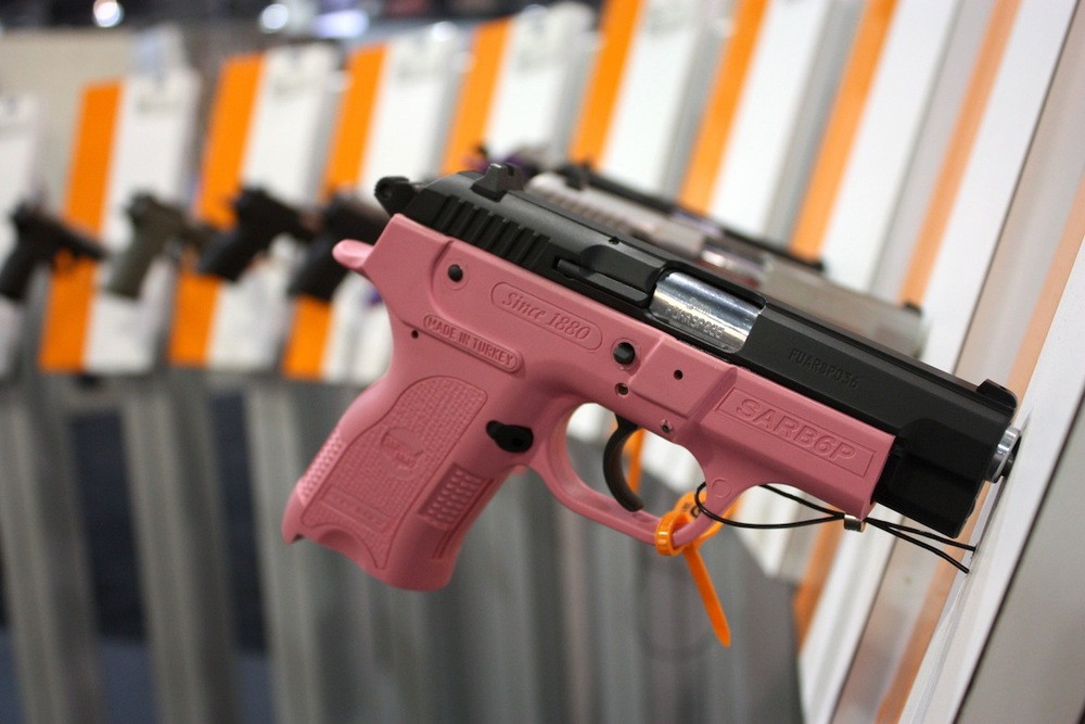 Pink gun, Las Vegas, NV / Photo credit:  Susannah Breslin