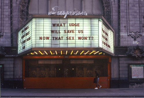 Jenny Holzer via This Isn't Happiness