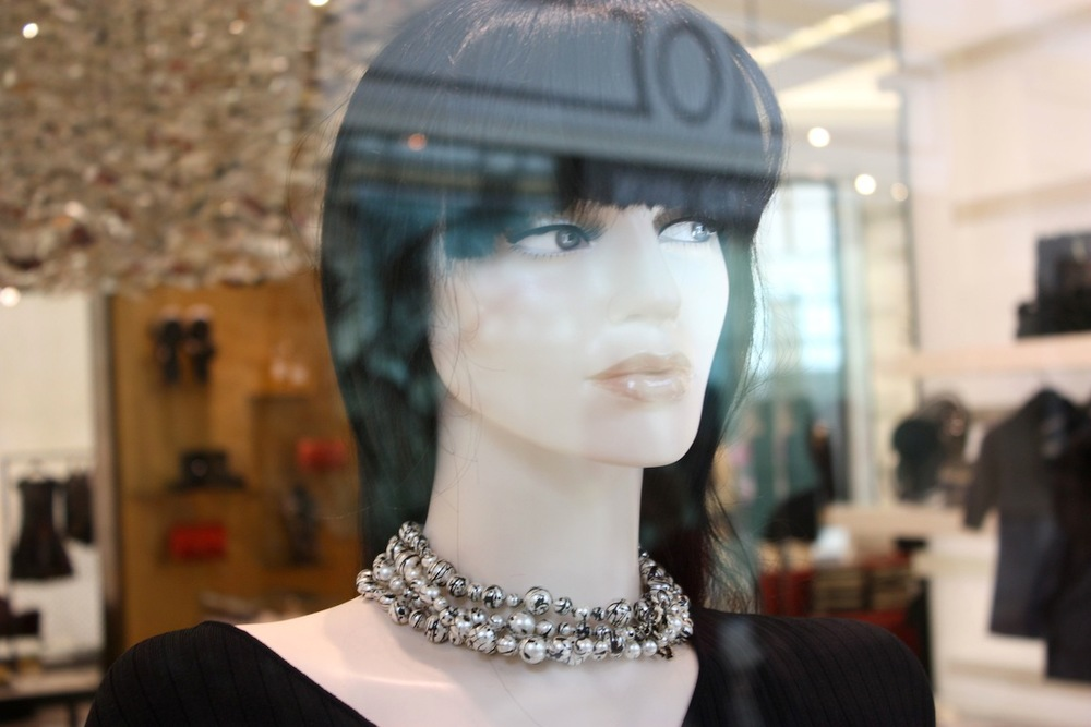 Chanel mannequin, Las Vegas, NV / Photo credit:  Susannah Breslin