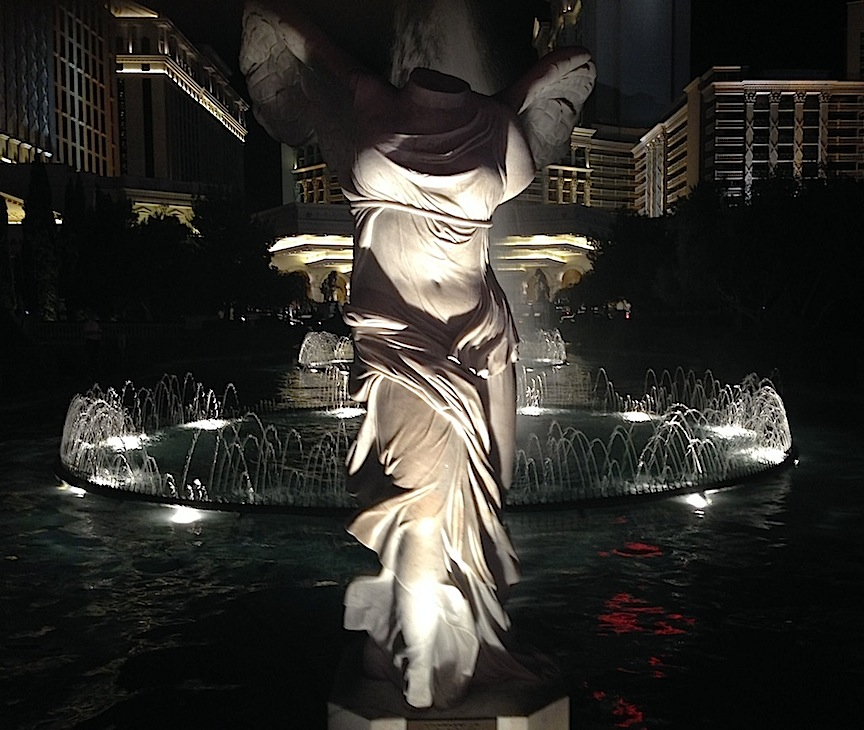 Statue, Las Vegas, NV / Photo credit: Susannah Breslin
