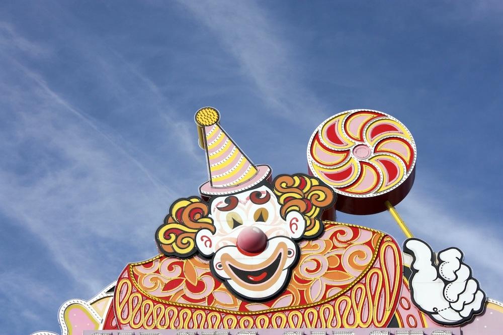 Clown, Las Vegas, NV / Photo credit:  Susannah Breslin