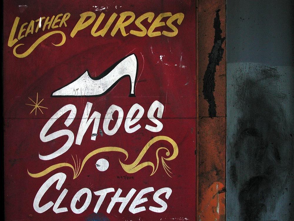 Shoes, Hollywood, CA / Photo credit:  Susannah Breslin