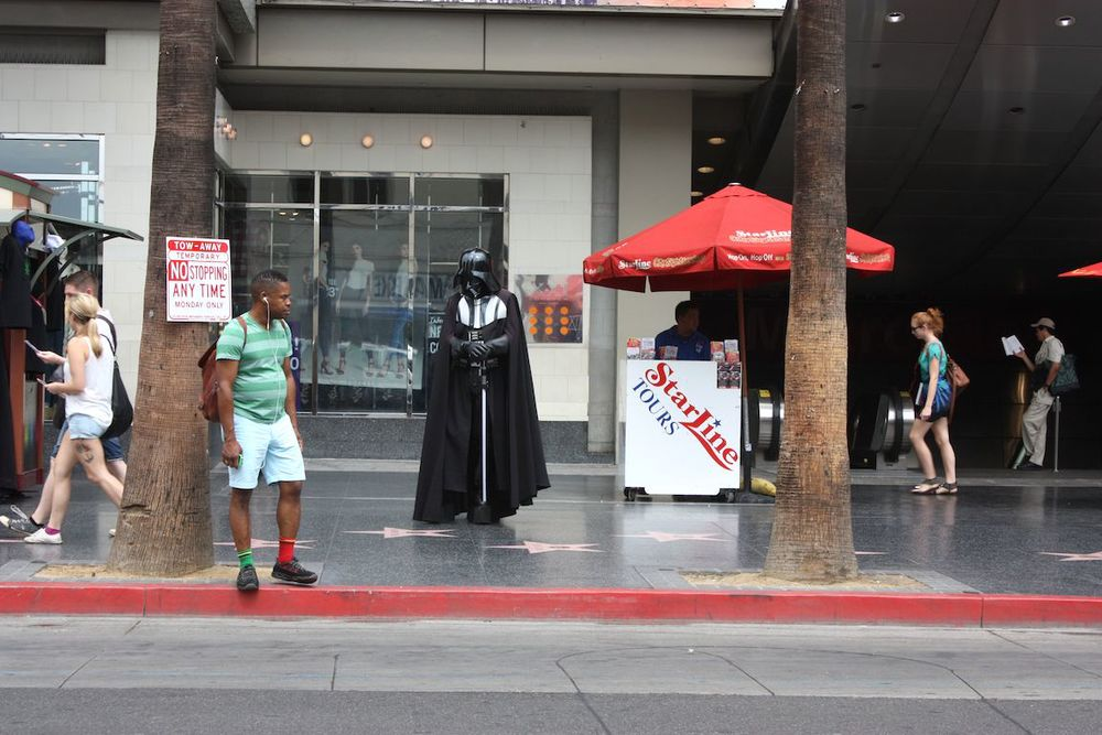 Darth, Hollywood, CA / Photo credit:  Susannah Breslin
