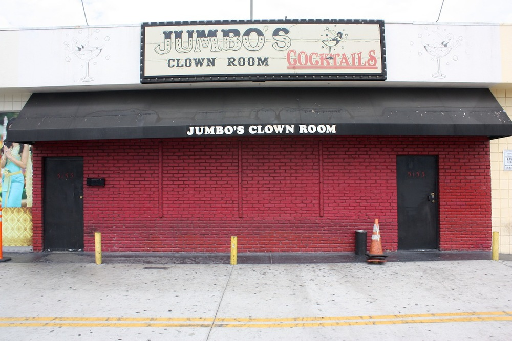 Jumbo's Clown Room, Los Angeles, CA / Photo credit: Susannah Breslin