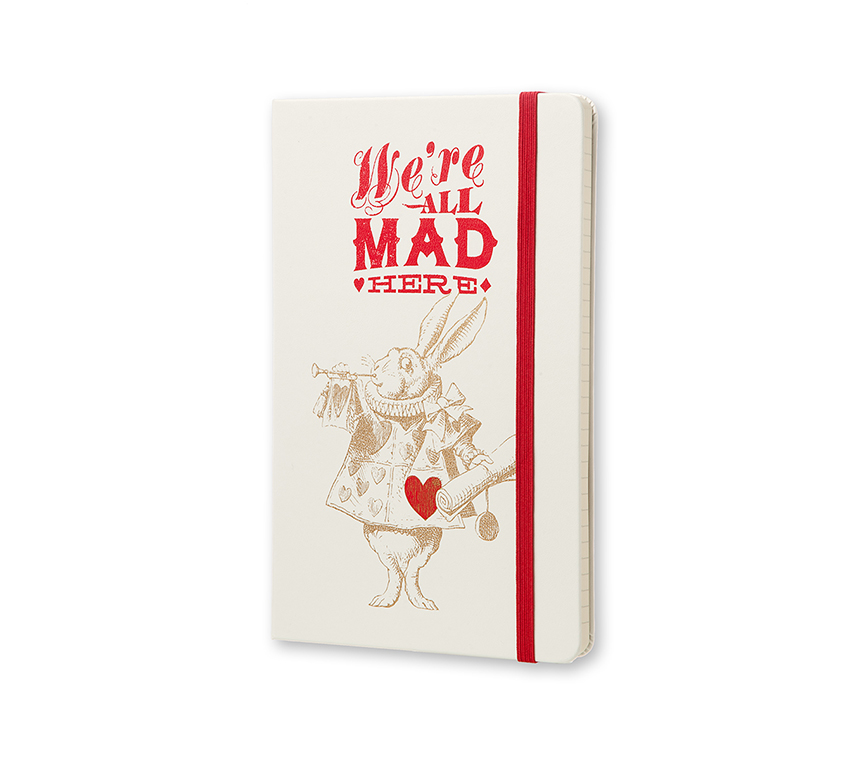 Alice in Wonderland Moleskine