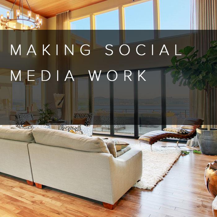 Making Social Media Work Interior Design Marketing School