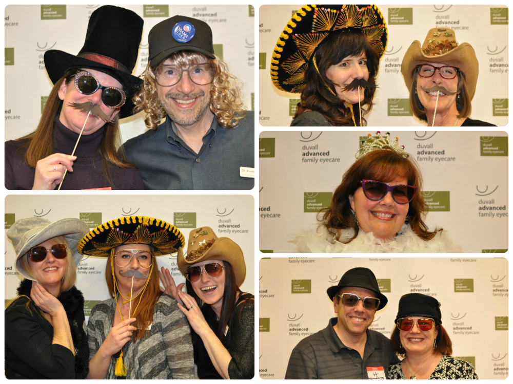 A while back our clinic hosted our local Chamber of Commerce mixer. Being the exciting folks that we are, we decided to bring in some props and antique specs and have some photo booth fun! Aside from the great photos that were shared across multiple social networks, we really had a great turnout and it was the perfect opportunity for members of the community to really learn who was behind our brand. Having the mixer in our clinic allowed us to show off our technology and talk on a personal level with the staff. We also offered digital retinal images at no cost and the partygoers were really quite interested! If you're a member of your local Chamber, I highly recommend throwing a mixer!    SELECT   to learn more about Carissa Dunphy (Washington).   VIEW   Carissa's entire blog.