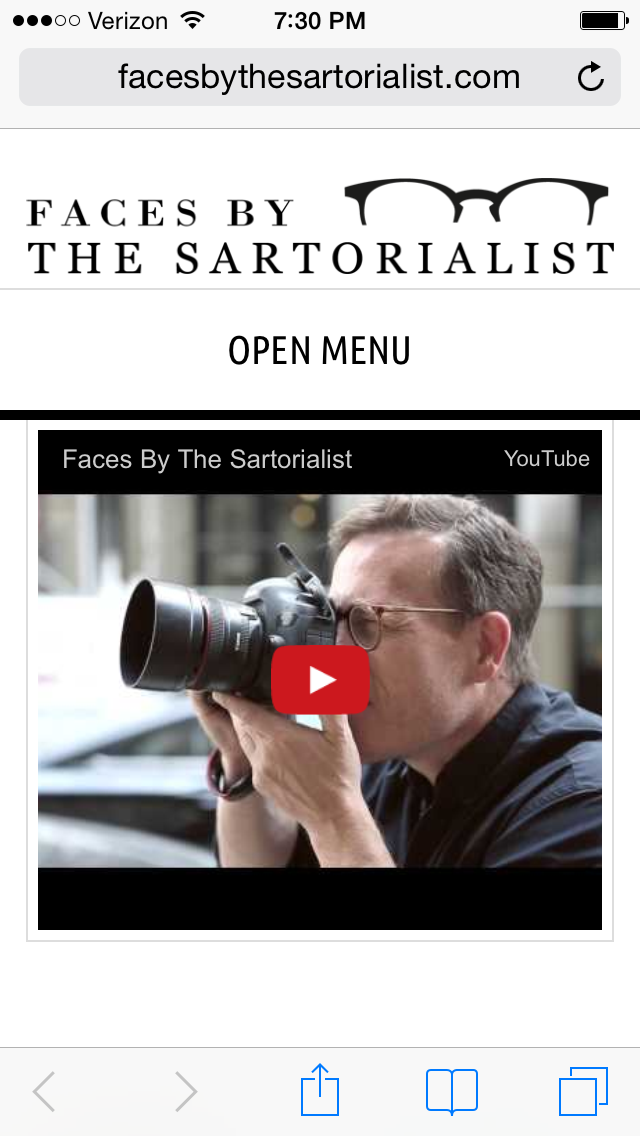 """I have been a fan and follower of the fashion blog """"The Sartorialist"""" for years. It will now qualify as an obsession with the new launch of their spinoff blog focusing on Eyewear! Seriously. Check. It. Out.    SELECT   to learn more about Holly Forstad (Minnesota).   VIEW   Holly's entire blog."""