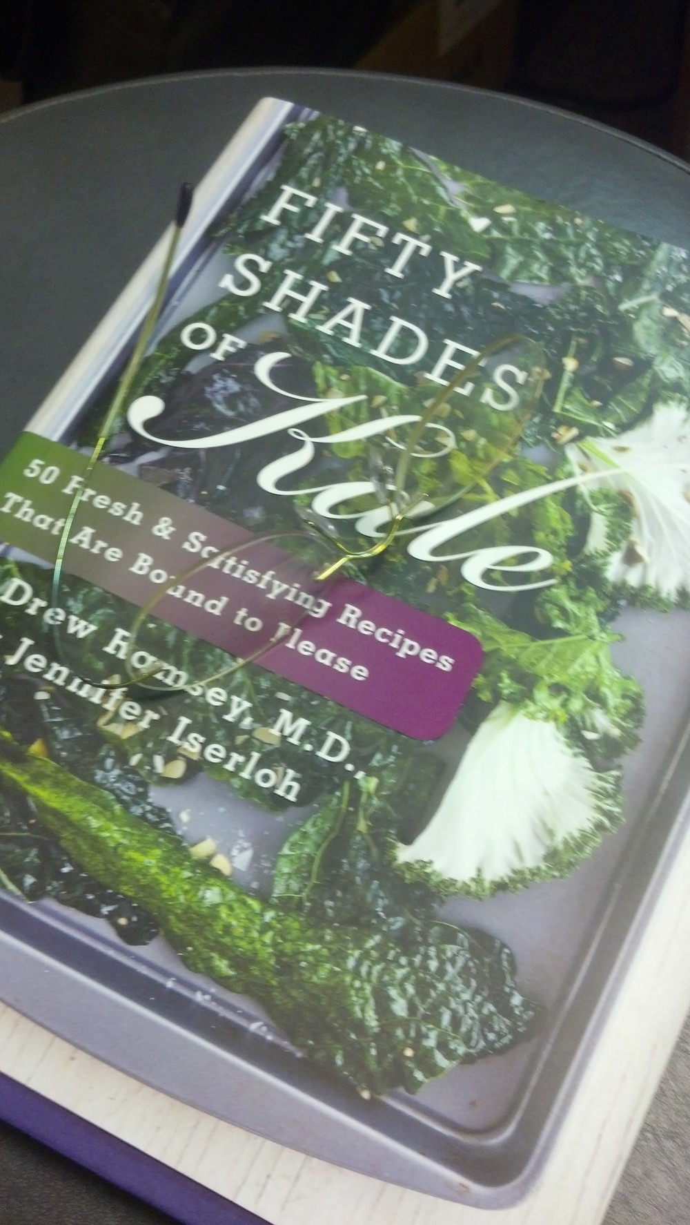 "One of my favorite parts of my job is connection with people. When each person reveals a little bit about their story or experiences i feel like they are giving me a little gift. Recently i had a connection where we shared a mutual interest in kale. Perfect chance to show off my latest cookbook acquisition, ""Fifty Shades of Kale"" by Drew Ramsey, MD and Jennifer Iserloh. After i dispensed her new lenses she selected a few recipes and we had our kale connection. Days like these help me get through other days.    SELECT   to learn more about Sandy Brubaker (Wisconsin).   VIEW   Sandy's entire blog."