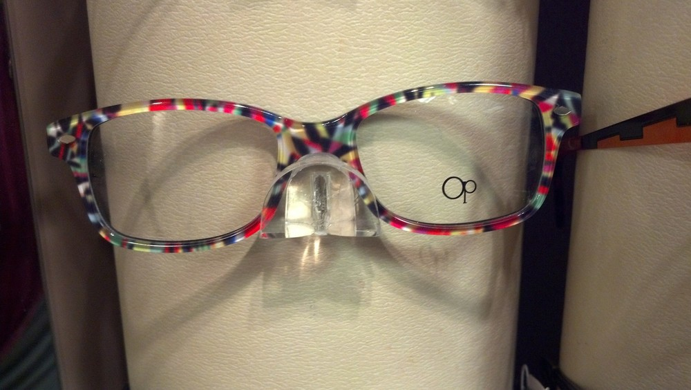 I love Clearvision's frames and this Ocean Pacific 817 in the color confetti is my favorite frame for kids. Not all kids can wear plastic frames depending on fit. Thank goodness we have choices!    SELECT   to learn more about Sandy Brubaker (Wisconsin).   VIEW   Sandy's entire blog.