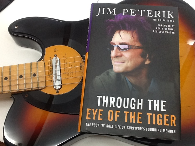 It's always great when you have a celebrity client wear your products in public. This time, Music giant Jim Peterik chose a pair for the cover of his AutoBiography. The man who wrote hits like Eye Of The Tiger, The Search Is Over, Hold On Loosely and many others likes to drop into Globe when he's in town. Thanks Jim!    SELECT   to learn more about Bob Schulze (Michigan)   VIEW   Bob's entire blog