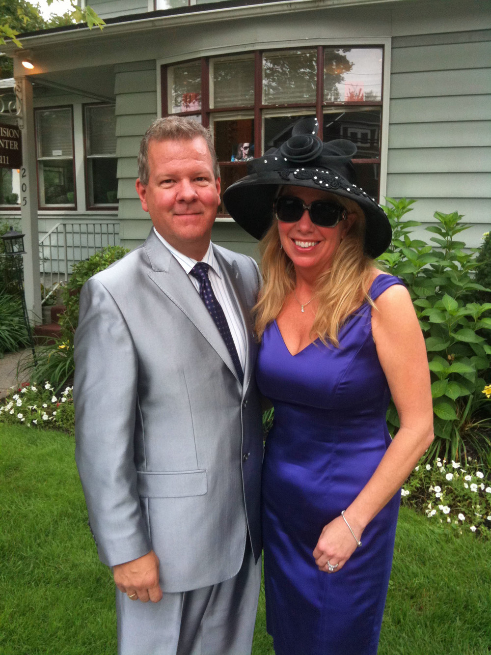 On our way to Saratoga Springs Race Track!