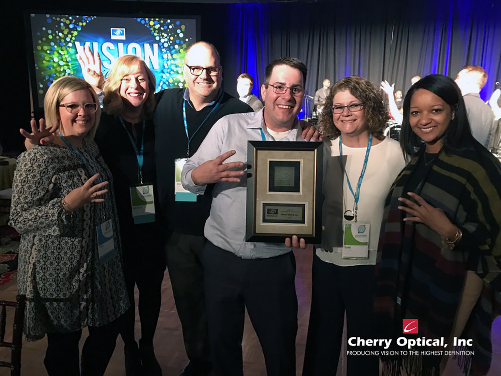 Cherry Optical, Inc Varilux Award of Excellence 2016.jpg