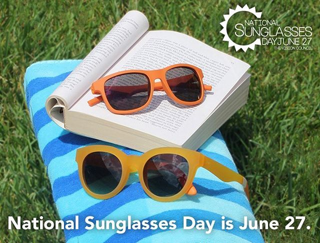 June 27 is #NationalSunglassesDay🕶  Time to get out your swankiest sunnies and educate patients on how to protect their eyes. This Tuesday is National Sunglasses Day!  It's not just about looking good. This is a teachable moment. Most people don't know that years of cumulative UV exposure can cause cancer of the eye or eyelid, and can accelerate conditions like cataracts and age-regulated macular degeneration.  ZEISS makes sunlenses for some of the finest sunglasses in the world. In addition to prescription sunlenses and PhotoFusion self-tinting lenses for any frame, you can find ZEISS lenses in the sunglasses of #RAEN, #VictoriaBeckham, #AMEyewear, #TOMS, #ErmenegildoZegna, #Mykita, #DickMoby, #GentleMonster, #KarenWalker, #Quicksilver, #Roxy, #FinestSeven, and more than 50 other brands. We'll be sharing behind-the-scenes videos from our sunlens labs in Italy throughout the day Tuesday.  Want to celebrate National Sunglasses Day? Learn how on DailyOptician.com - link in bio #DailyOptician #sunglasses #ZEISS