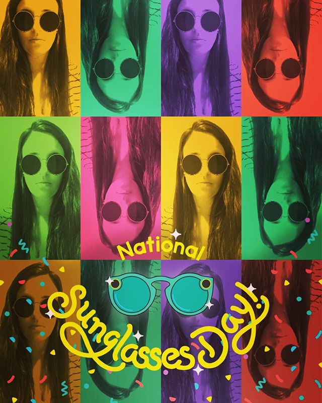 🕶Enjoy celebrating #NationalSunglassesDay #DailyOptician