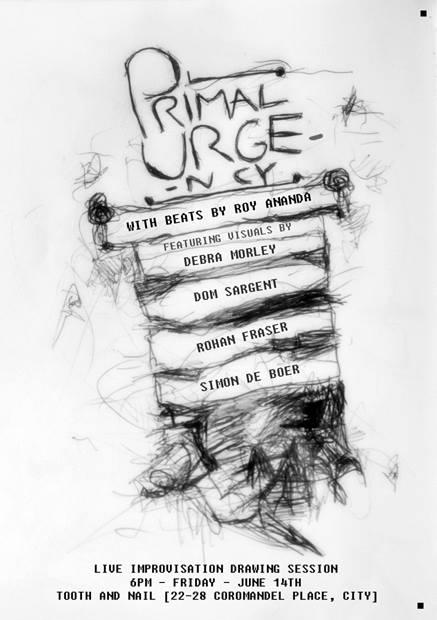 Primal Urgency Poster
