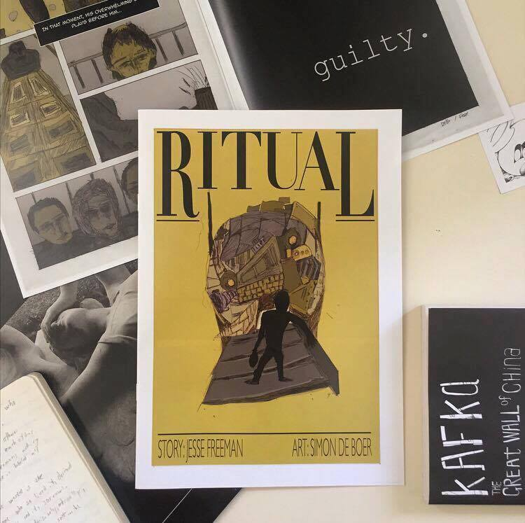 Ritual Comic Book (2017) Edition of 50.