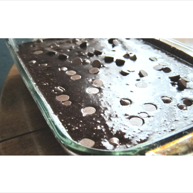 Texas Sheet Cake with Brownie Batter Frosting | Jordan A. Smith