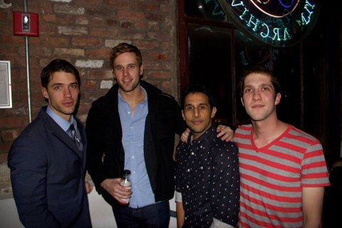 Cast and Director photo - David Gregory, Dan Amboyer, moi, and Dir. Michael Morgenstern at the Anthology Film Archives, NYC.  April 1, 2014. Visit Lily In the Grinder's facebook page for more pics and updates on this film!