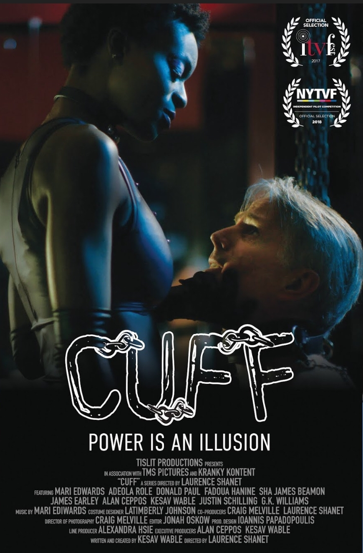 poster for  CUFF  screening on Friday, October 12th at 5:45 p.m. in Manchester, Vermont!
