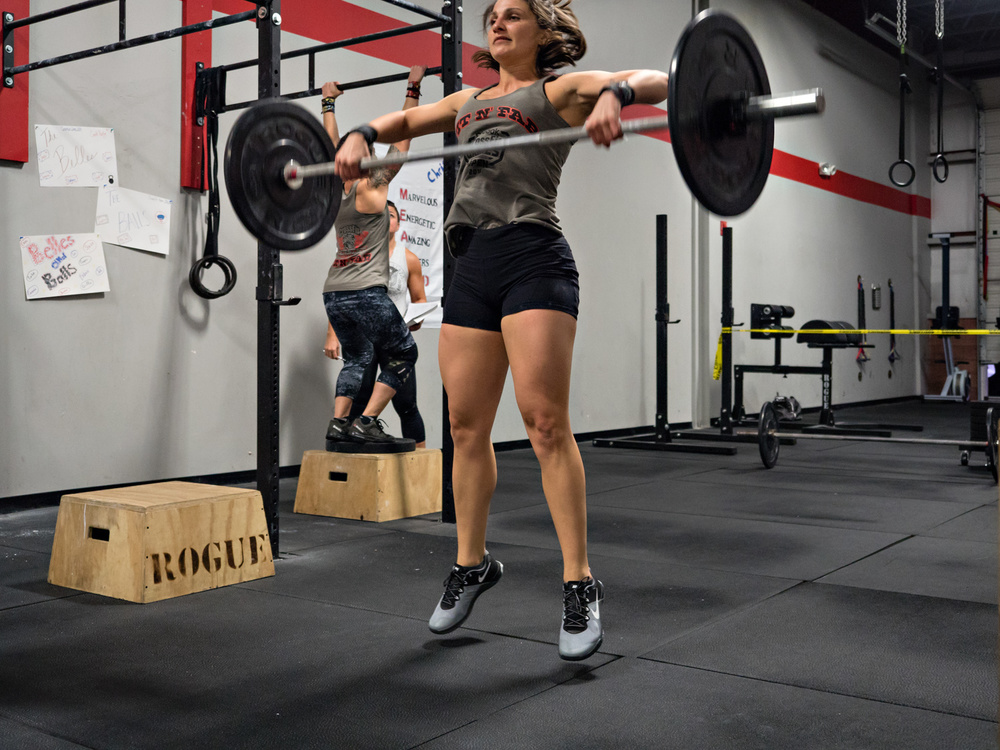 16.3 = a lot of lightweight power snatches