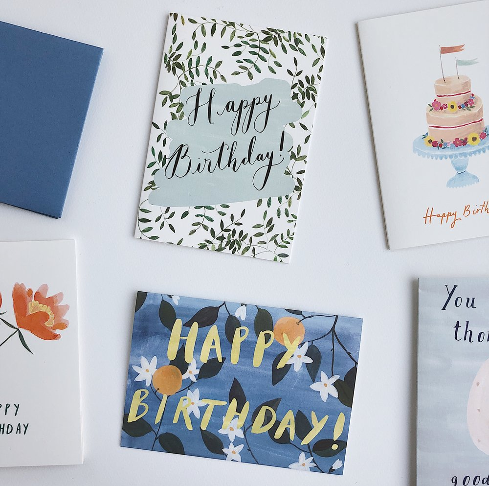 Birthday Card Pack Peggy Kate