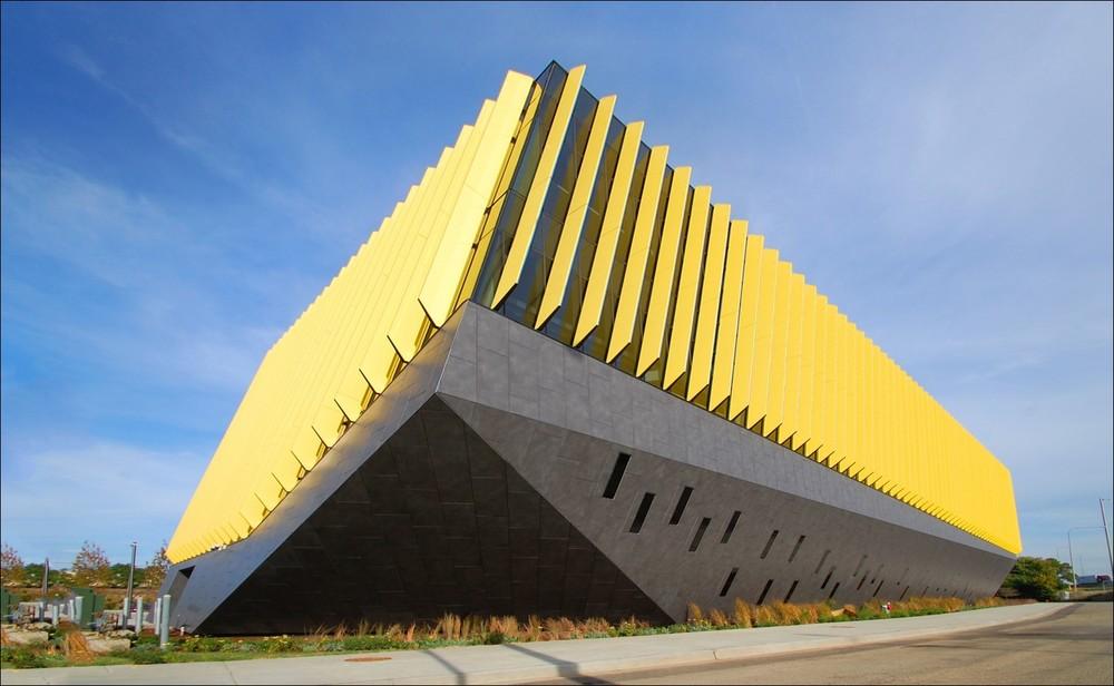 "2015 New Construction Chicago Under $55 Million Merit Award Recipient - Northeastern Illinois University ""El Centro Campus""."