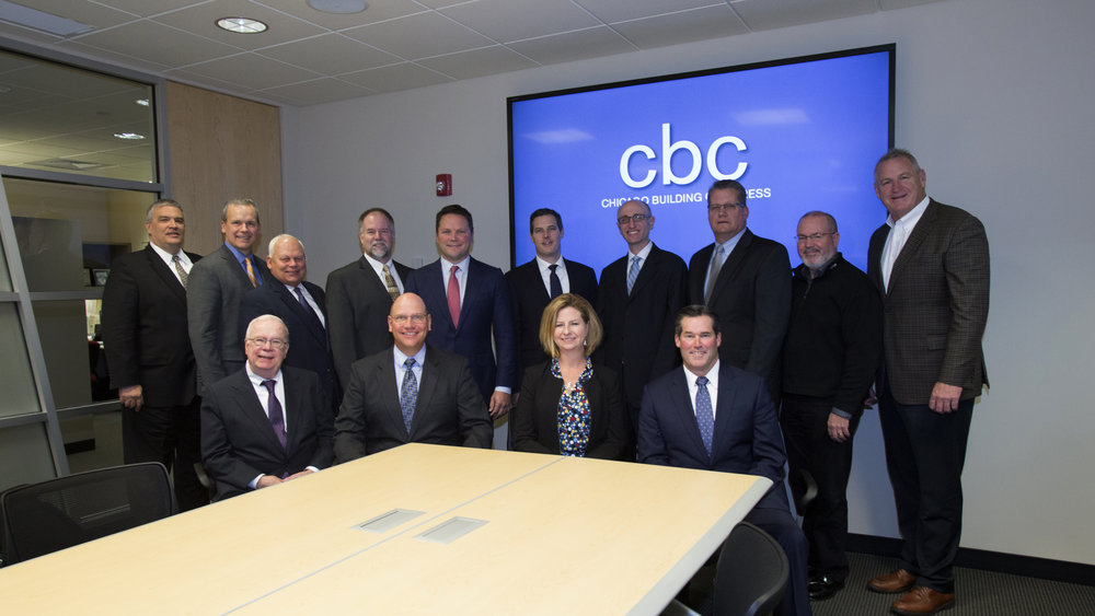 2016 -17 CHICAGO BUILDING COUNCIL BOARD OF OFFICERS AND DIRECTORS