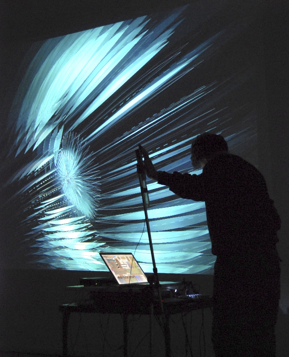 NoiseFold v1.0 at Interactive Futures (Victoria, BC, 2007)