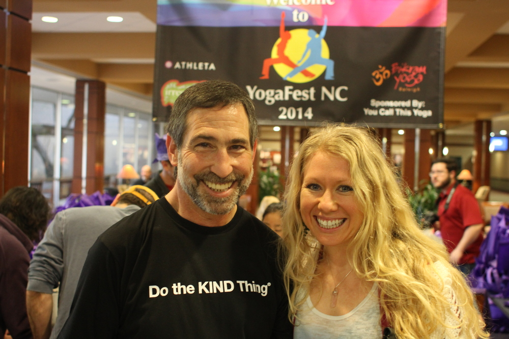 YCTY founder, Howie Shareff, and the organization's president, Sarah Wechsberg