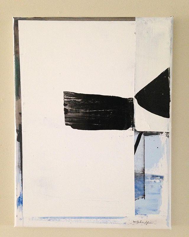 """""""Concrete Study"""" 16X12 Oil on canvas"""