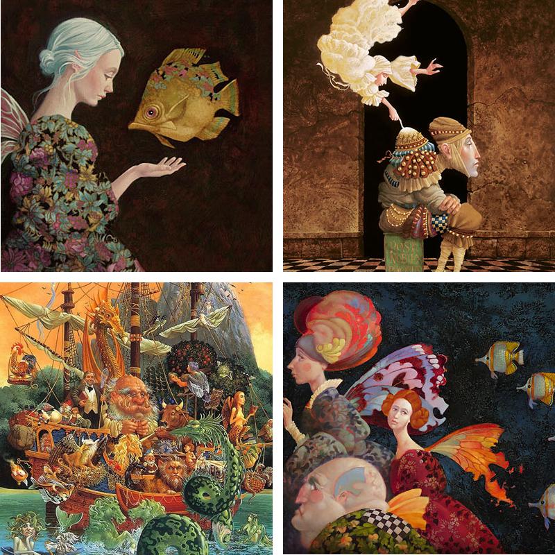 Paintings by James Christensen | jameschristensen.com